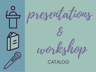 Presentation & workshop catalog icon